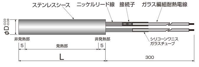 シーズヒーター 電熱ヒーターの株式会社熱学技術製品|カートリッジヒーター標準型