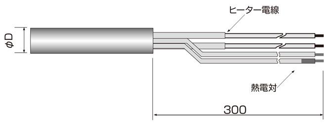 シーズヒーター 電熱ヒーターの株式会社熱学技術製品|カートリッジヒーター熱電対取付型