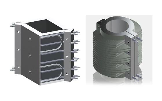 シーズヒーター 電熱ヒーターの株式会社熱学技術 鋳込みヒーター