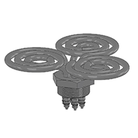 シーズヒーター 電熱ヒーターの株式会社熱学技術製品 シーズヒーター花形(3相)